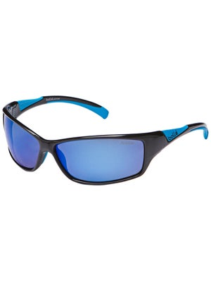 Bolle Speed Sunglasses Black/Blue Polarized