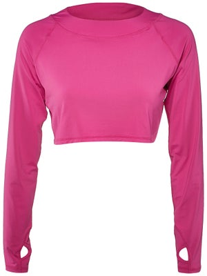 ed0ef20b2f Product image of BloqUV Women's Crop Long Sleeve Top - Passion Pink