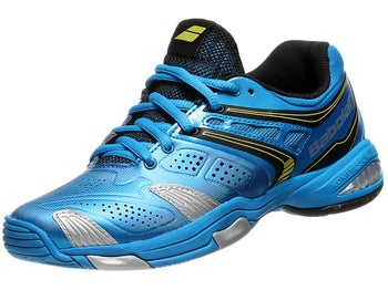 Babolat V-Pro 2 Junior Blue/Yellow Shoes