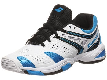 Babolat V-Pro 2 Junior White/Blue Shoes