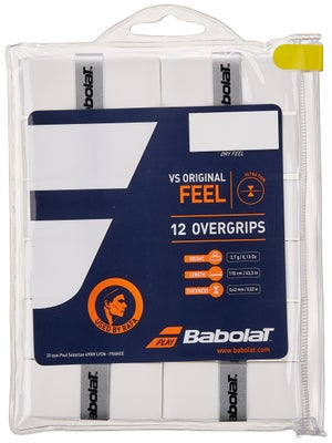 Babolat VS Overgrips 12-pack White
