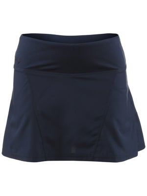 Bolle Women's Basic Back Pleat Skort - Navy