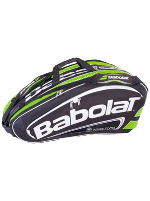 Babolat Team Wimbledon Black/Green 12 Pack Bag