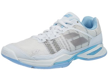 differently f3087 400d5 Product image of Babolat Jet Mach I AC White Sky Blue Women s Shoes
