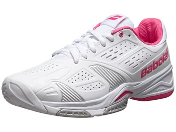 Babolat SFX Team All Court White/Pink Women's Shoes