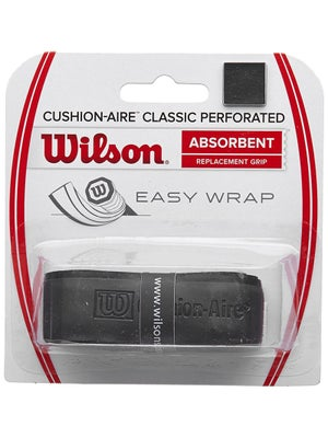 Wilson Cushion-Aire Classic Perforated Grip Black