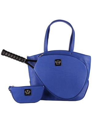 Court Couture Cassanova Bag Blue Pebble