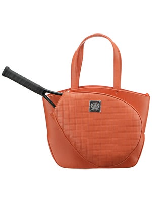 Court Couture Cassanova Bag Quilted Tangerine