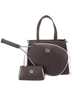 Product Image Of Court Couture Karisa Black Pebble Bag Cocoa