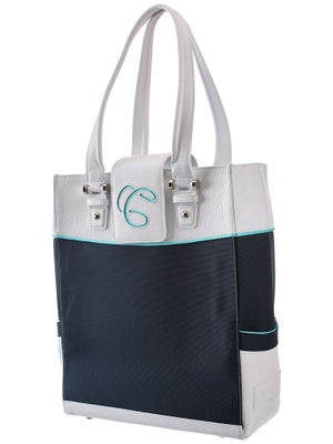 Cortiglia Rendezvous Tote Bag Blue/White