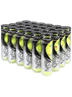 Dunlop A-Player Tennis Balls 24 Can Case 4 Ball Can