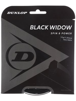 Dunlop Black Widow 17 String