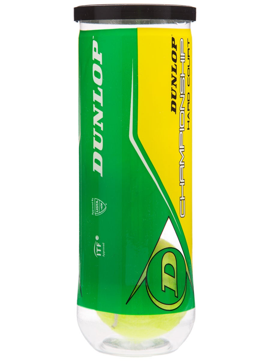 Dunlop Champ Hard Court Xd Tennis Ball Single Can