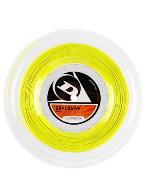 Dunlop Explosive 16 String Reel Yellow