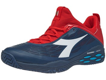 b324be353fdd0 Diadora Speed Blushield Fly AG Blue/Red Men's Shoe
