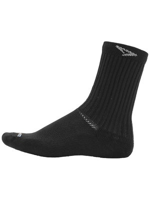 DryMax Tennis Crew Black Socks
