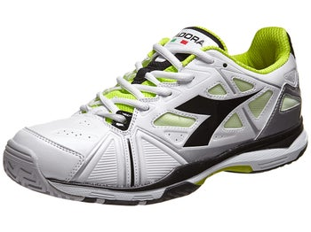Diadora Speed Ace White/Black Men's Shoe