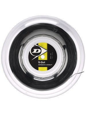 Dunlop Synthetic S-Gut 16 String Reel Black