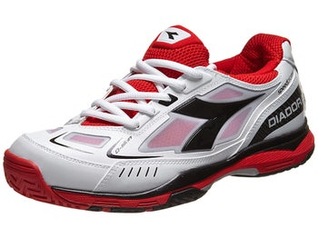 Diadora Speed Pro Me White/Red/Black Men's Shoe