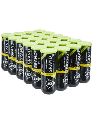 Dunlop Grand Prix Extra Duty Tennis Balls 24 Can Case