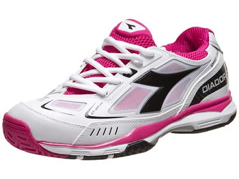 Diadora Speed Pro Me White/Black/Pink Women's Shoes