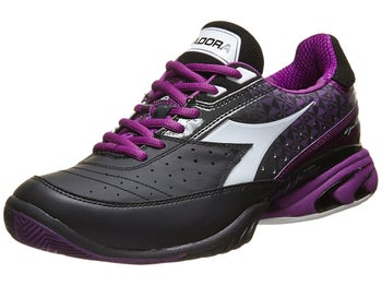 Diadora Speed Star K W II Black/Violet Women's Shoes