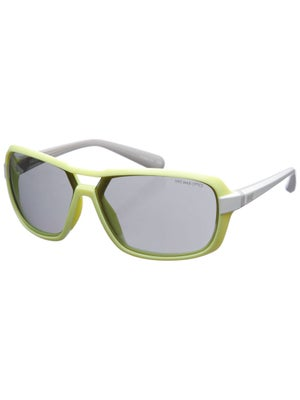 Nike Sunglasses Racer - Yellow & White/Grey Lens