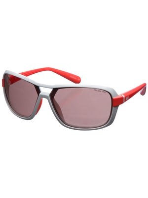 Nike Sunglasses Racer E - White & Crimson/Speed Tint