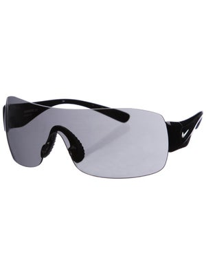 Nike Sunglasses Vomero 12 - Black & Silver/Grey Lens