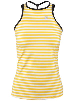EleVen Women's Strisce Over Ruled Tank - Stripe