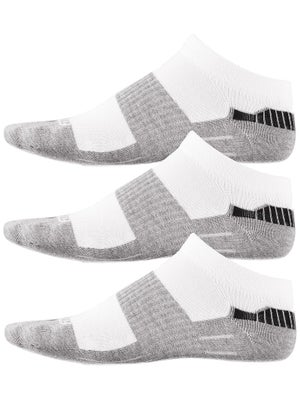 Fitsok CX3 Tech Low 3 Pack Socks White/Grey