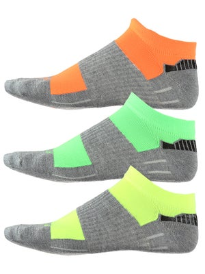 Fitsok CX3 Tech Low 3 Pack Neopop Socks Ye/Gr/Or