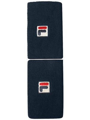 Fila F-Box Doublewide Wristbands Navy