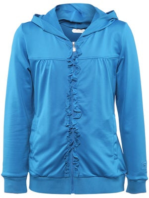Fila Girl's Fall Net Hooded Jacket