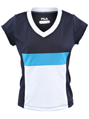 Fila Girl's Fall Heritage Cap-Sleeve Top