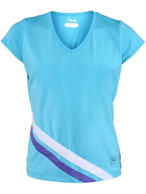 Fila Girl's Spring Center Court Cap Sleeve