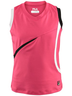Fila Girl's Spring Semi-Circle Sleeveless Tank