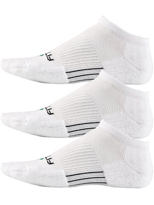 Fitsok CF2 Low Cushion 3 Pack Socks White