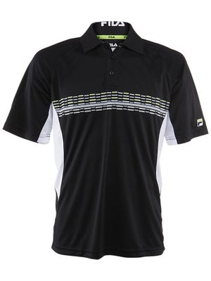 Fila Men's Fall Center Court Print Polo