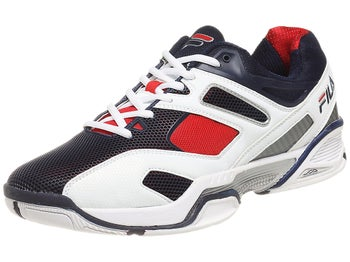 Fila Sentinel White/Navy/Red Men's Shoes