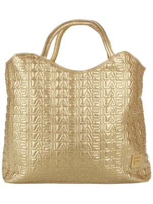 Fila Oversized Tote Bag Gold