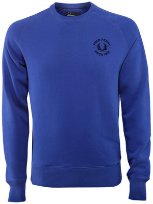 Fred Perry Men's Fall Raglan Crew Sweatshirt