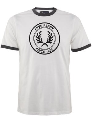 Fred Perry Men's Fall Round Flock T-Shirt