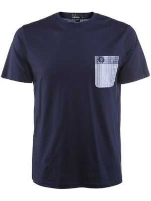 Fred Perry Men's Spring Pattern Pocket T-Shirt