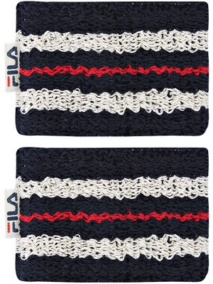 Fila Retro Singlewide Wristbands Navy