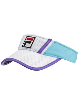Fila Women's Center Court Visor White