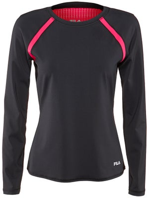 Fila Women's Parallax Lacey Long Sleeve Top