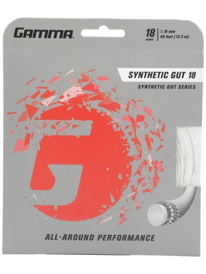 Gamma Synthetic Gut 18 White String