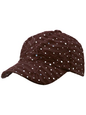 The Alabama Girl Glitter Hat Chocolate