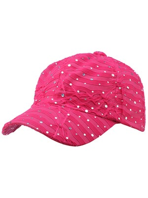 The Alabama Girl Glitter Hat Hot Pink